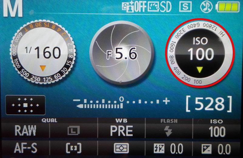Impostazione ISO su Nikon (D3300)