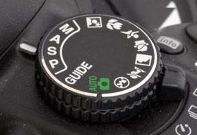 Ghiera modalità Nikon (D3300)