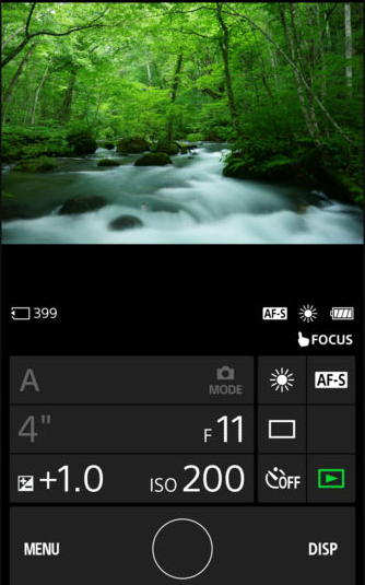 tethering wireless sony a7r III con smartphone e playmemories mobile